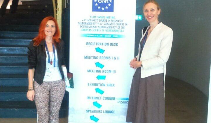 "Učešće na ""39th Annual Meeting of the European Society of Neuroradiology"" – 15-18.09.2016"